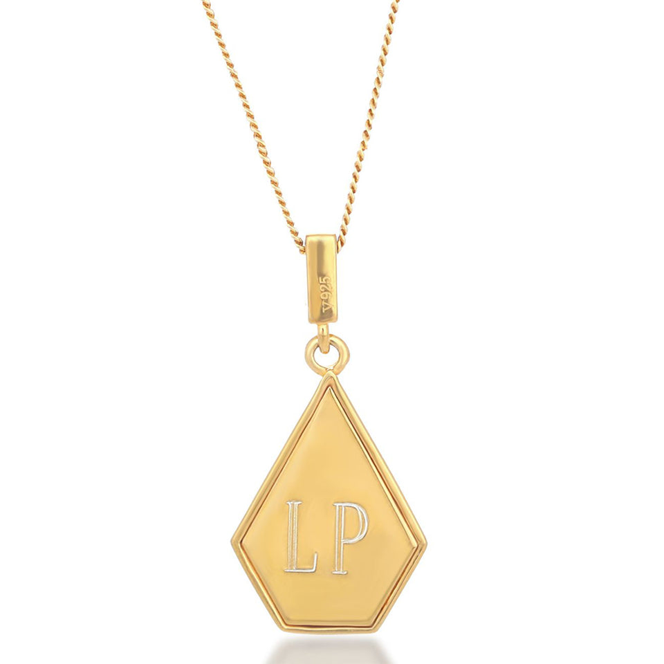 Sansa Gold Necklace Necklaces V by Laura Vann