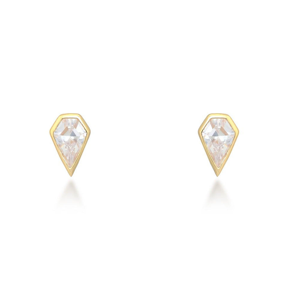 Sadie Gold Stud Earrings