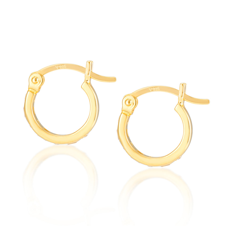 Frances Gold Hoops