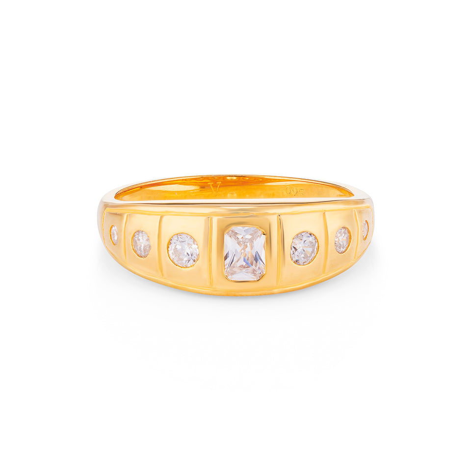 Celia Gold Gypsy ring