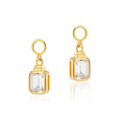 Emerald Cut Charms