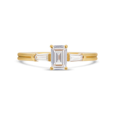 PACK: Illusion Bullet & Emerald Cut Ring