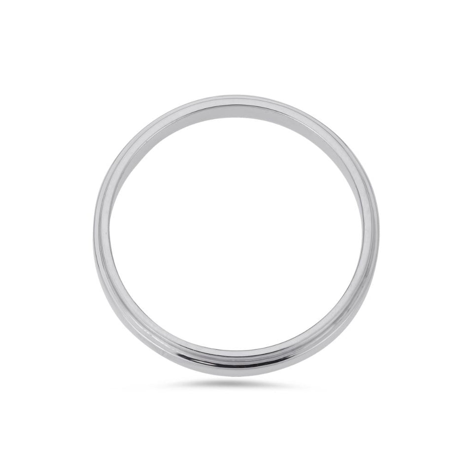 PACK: Platinum/White Gold Pillar Ring