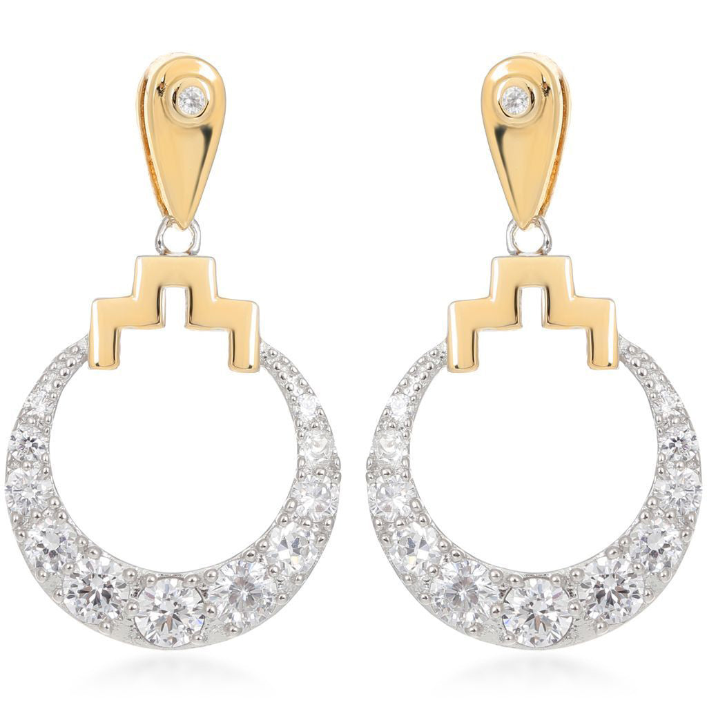 Bianca Gold Drop Earrings