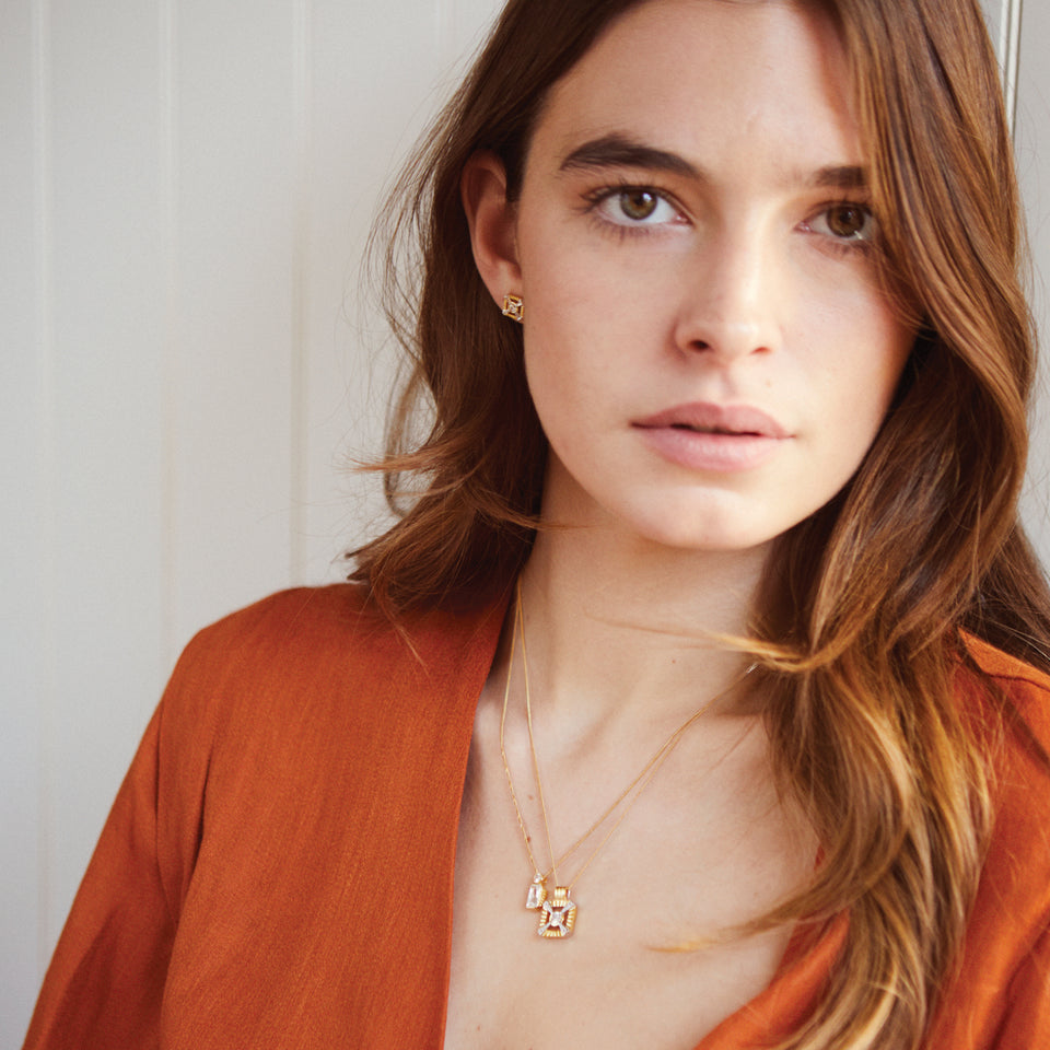 Jolie Gold Necklace Necklaces V by Laura Vann