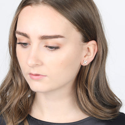 Eleanor Gold Stud Earrings