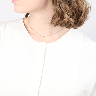Evelyn Gold Short Choker Necklace