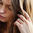 Jolie Gold Ring Rings V by Laura Vann