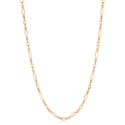 Vintage link gold heavy chain