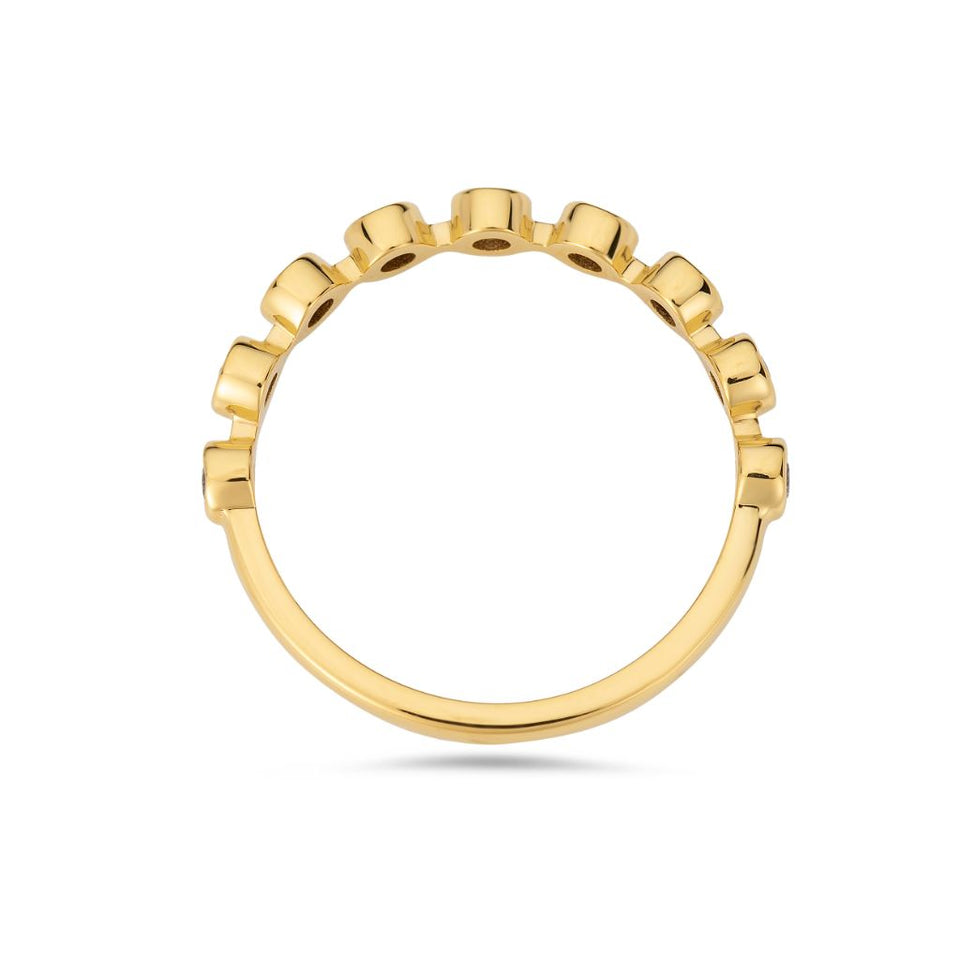 PACK: Gold Bezel Ring