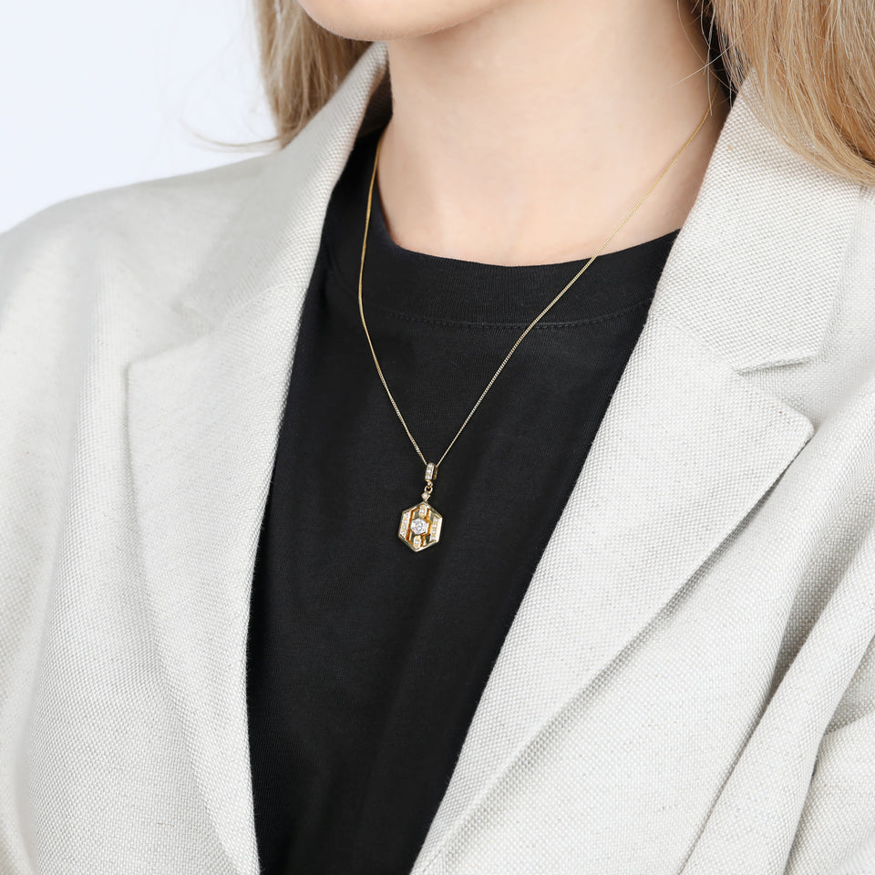 Darcy Gold Necklace