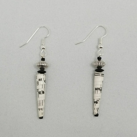 Music Earrings - Village of Hope - Tabitha Artisans