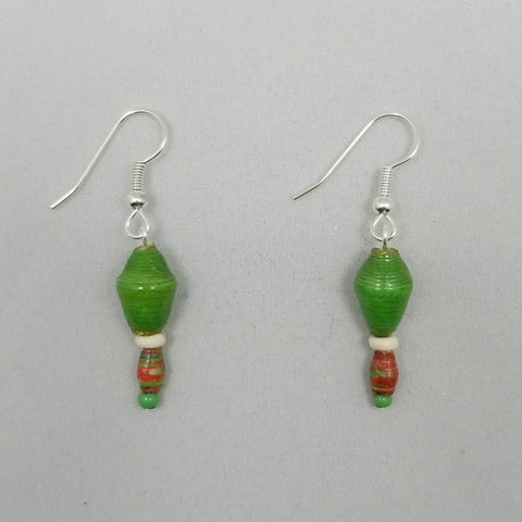 Christmas Earrings - Village of Hope - Tabitha Artisans