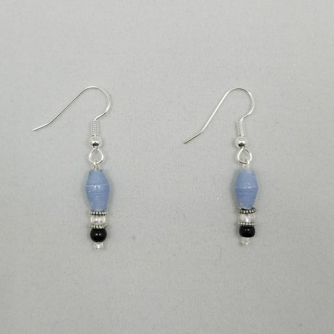 Periwinkle Blue Earrings - Village of Hope - Tabitha Artisans