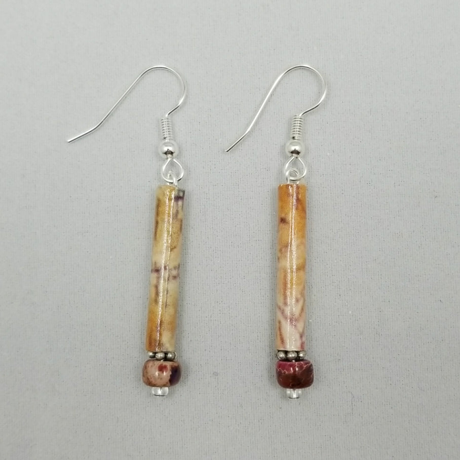 Marbled Earrings - Village of Hope - Tabitha Artisans
