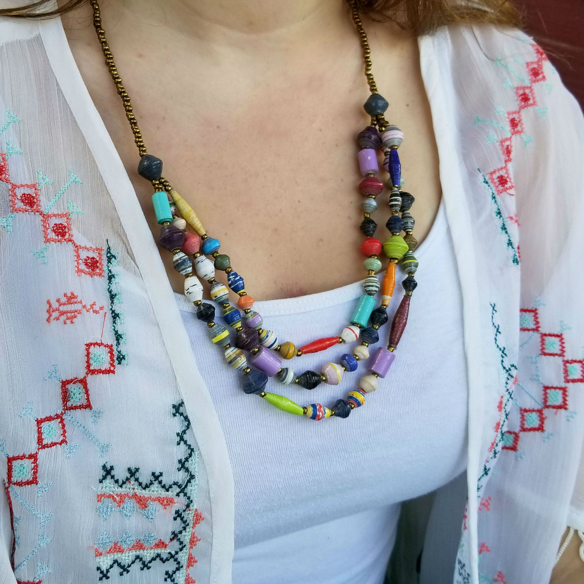 The Freedom Necklace - Village of Hope - Tabitha Artisans