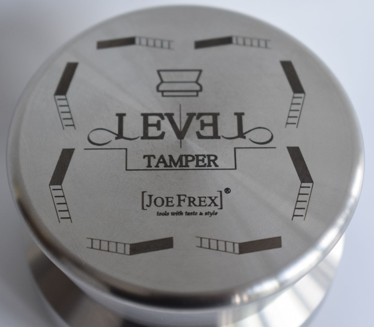 Joe Frex Level Tamper 100% Stainless