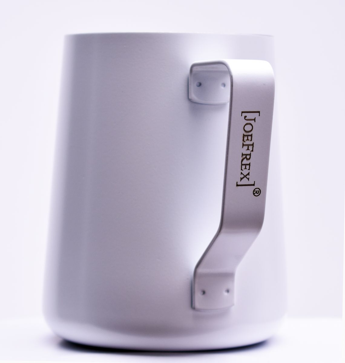 Joe Frex Milk Pitcher powder coated White 350 ml
