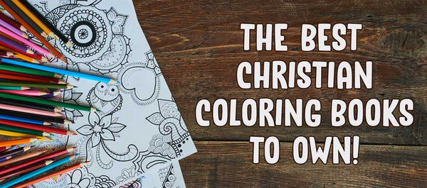 Christian Strong coloring books picks