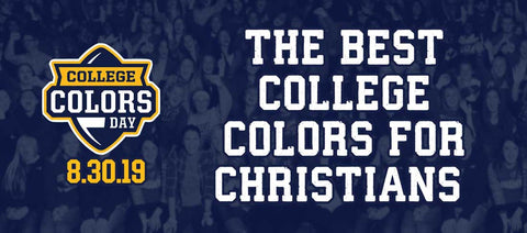 college christian colors