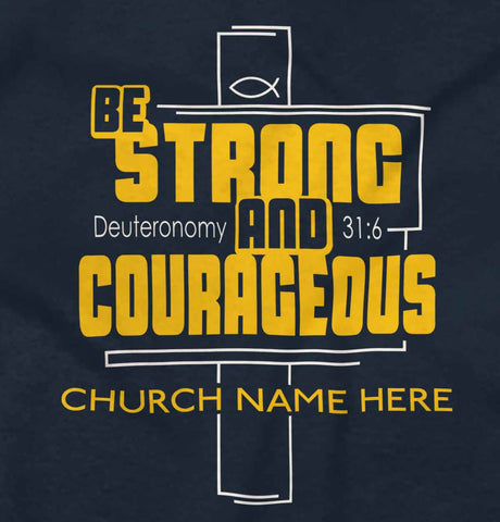 0 | Be Strong & Corageous | Christian Gift Ideas  | Christian Strong