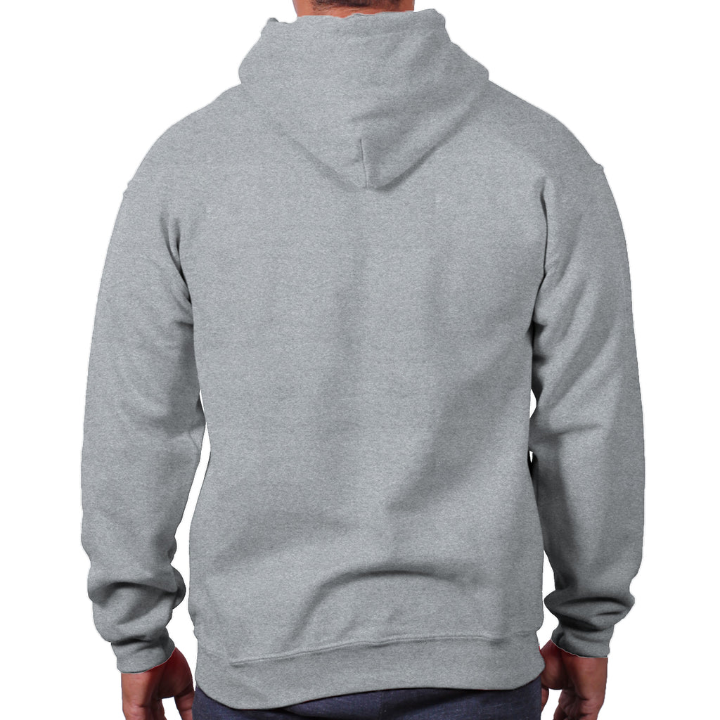 AntiqueCherryRed | 18500 - G01 | Christian Apparel Hooded Sweatshirt | Christian Strong