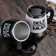 Smart Automatic Self-Stirring Mug, Stainless Steel