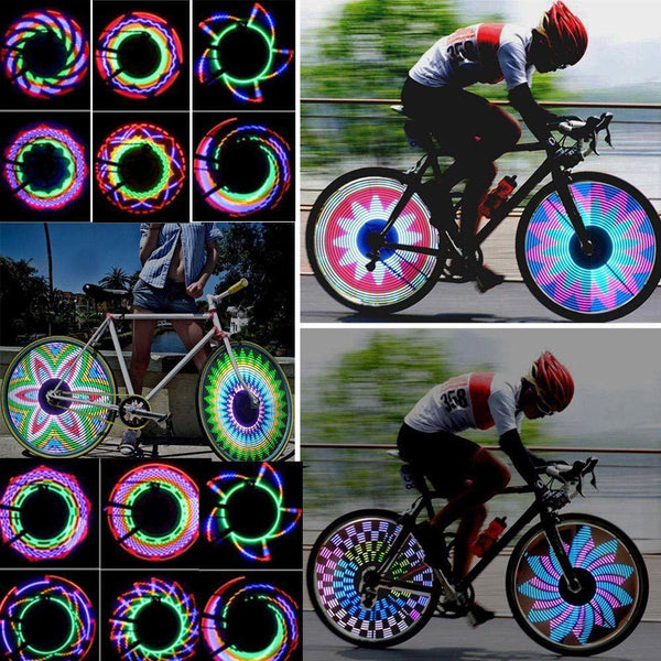 Best Rated Colorful Bicycle 32 LED Lights Pattern - Boltrer