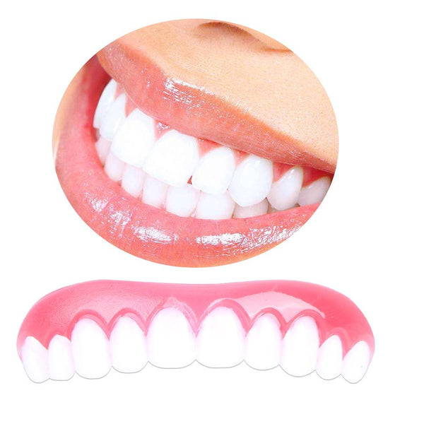 Instant Smile Comfort Flex - Comfortable Upper Veneer For A Perfect Smile - Boltrer