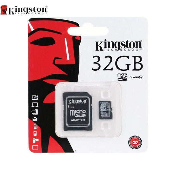Kingston Digital 32 GB microSDHC Class 10 UHS-1 Memory Card - Boltrer