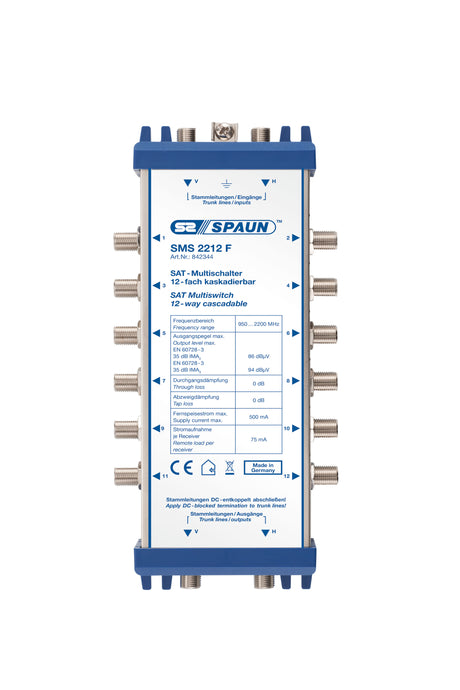 Spaun-SMS2212F-Cascadable-Multiswitch-vivid-clear-solutions