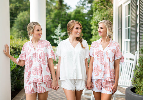 Poppy & Co. | Pajama Set | Bridesmaids Gifts | Bridal Party Pajama Set