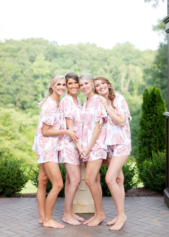 Poppy & Co. - bridesmaids gifts - bridal party loungewear - bridal party pajama set