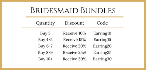 Poppy & Co. - Earring Bridesmaid Bundle