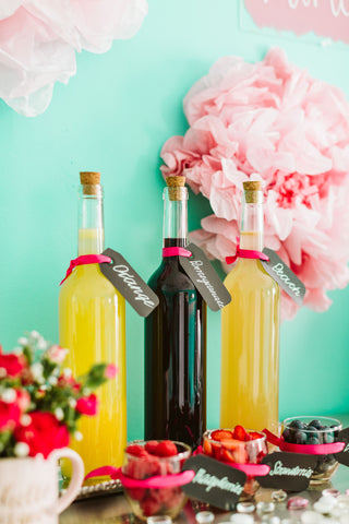 DIY Mimosa Bar Recipe - Mimosas - Wedding Day Morning - Juice