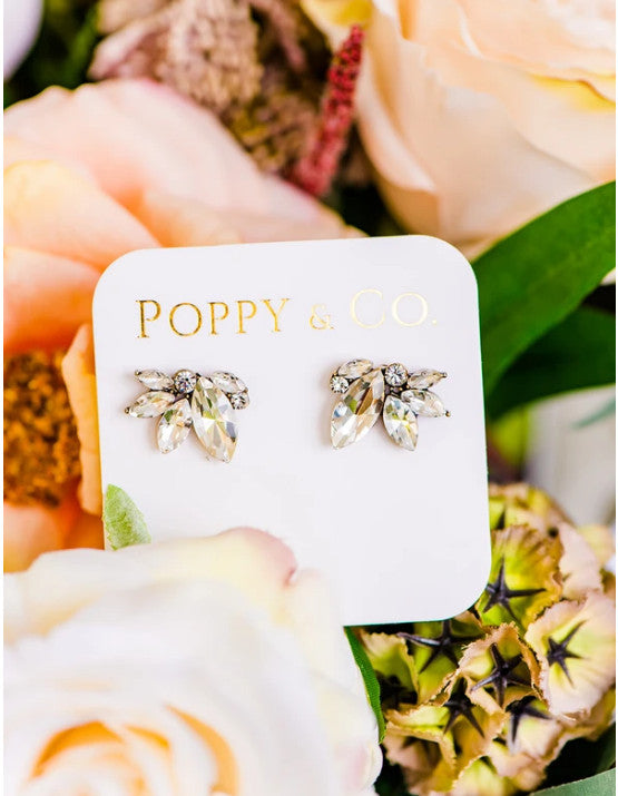 | Poppy & Co. | Bridal Jewelry | Wedding Day Jewelry | Wedding Day Earrings