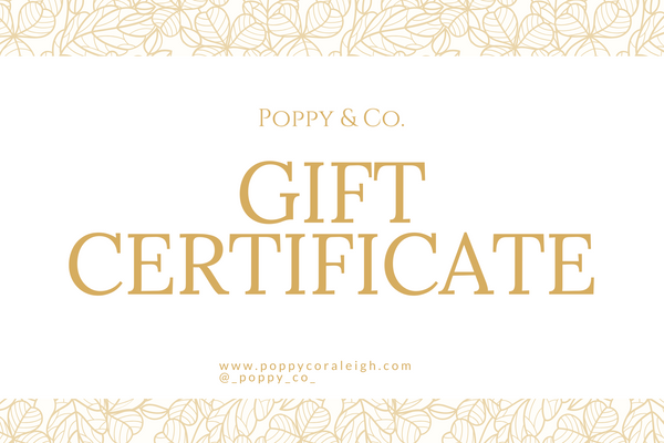 Poppy & Co. Gift Card