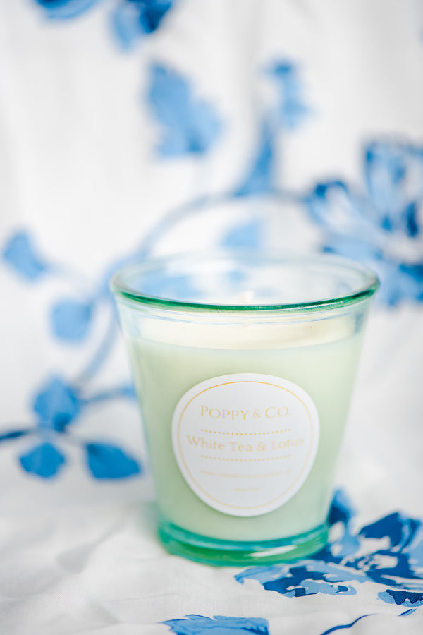 White Tea & Lotus Candle