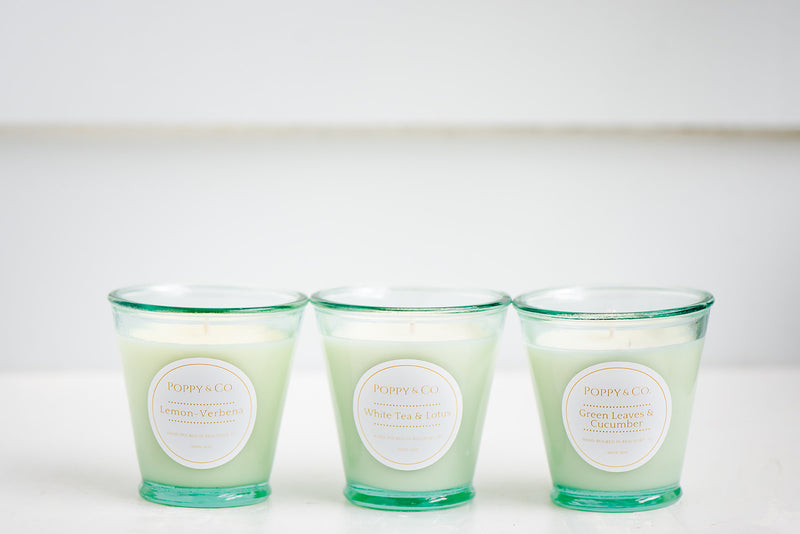 Cucumber & Green Leaves Candle