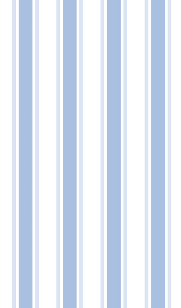 Stripe Pajama Set - Blue
