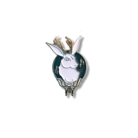 Jackalope Pin - NINELIVES