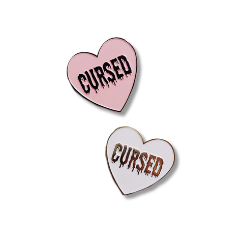 Cursed Heart Pin - NINELIVES