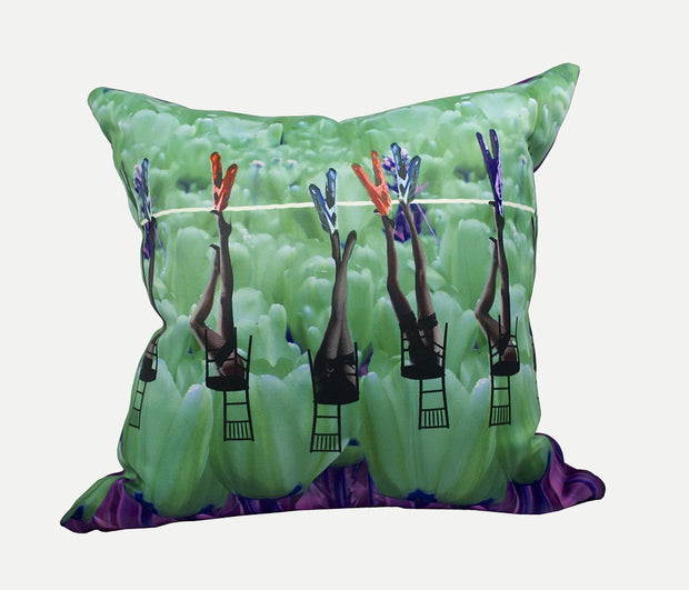 Glamour Tulips Pillow
