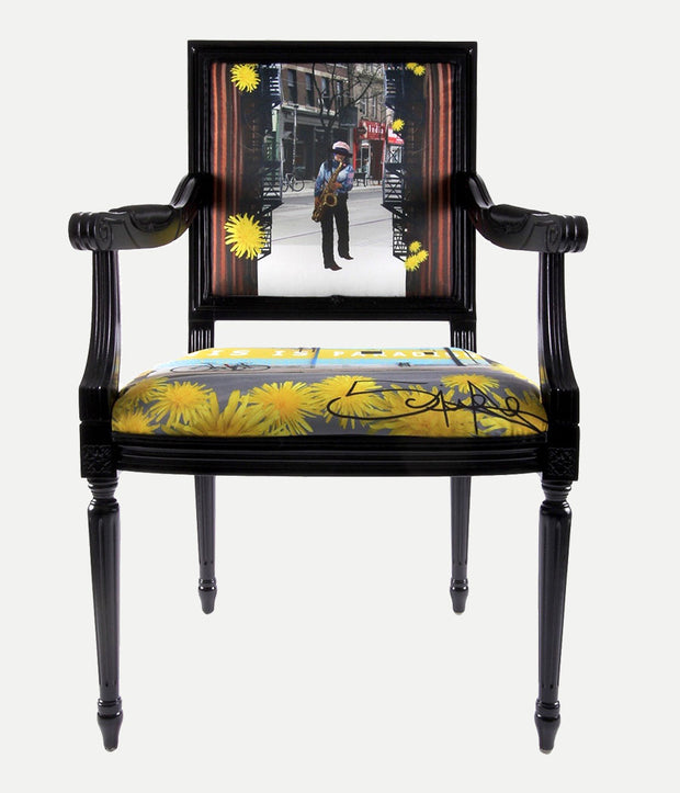 Street Art Arm Chair