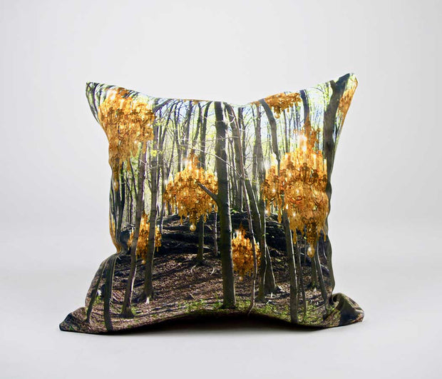 Golden Woods Pillow