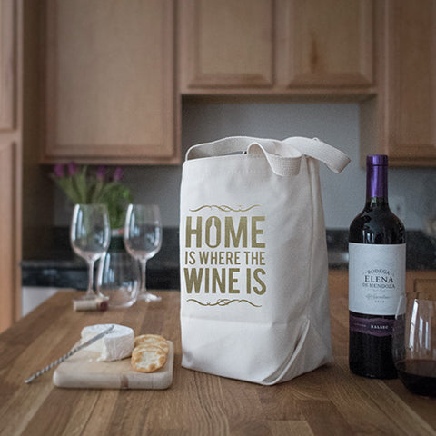 Four Bottle Wine Totes