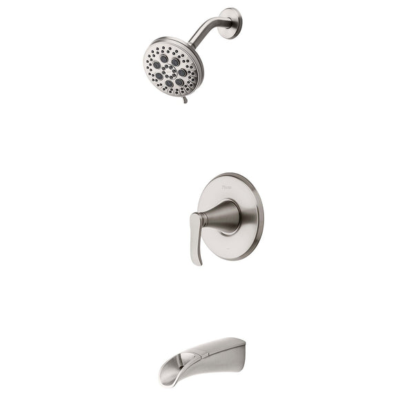 Pfister 8P8-WS2-JDSGS Jaida Tub and Shower Faucet, Restore Tech in Brushed Nickel
