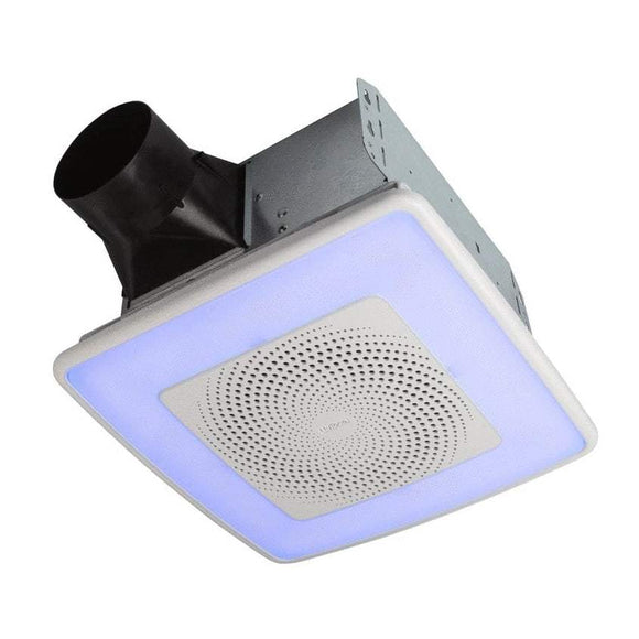 Broan NuTone ChromaComfort Ventilation Fan with Multicolor LED Light and Control