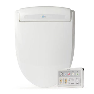 BioBidet BB-1000 Elongated White Bidet Toilet Seat, Self Cleaning, Easy Install
