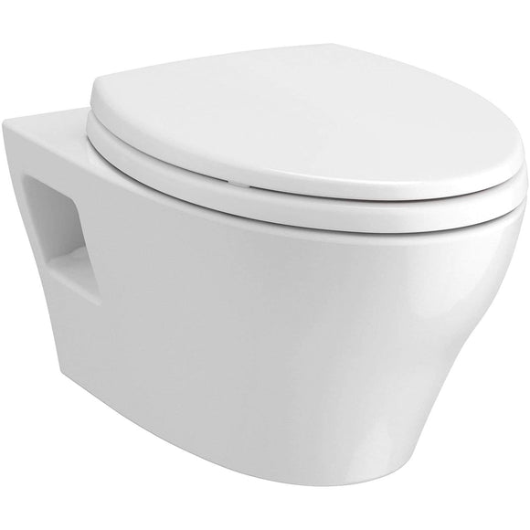 TOTO CT428CFGT40#01 EP Elongated Wall-Hung Bowl T40 Cotton White Washlet+